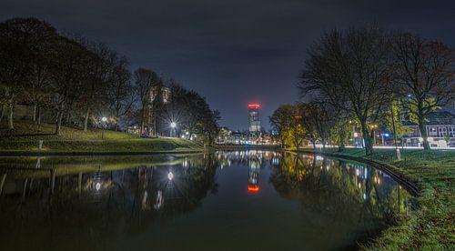 Prinsentuin Avond foto Leeuwarden