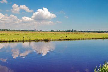 Plat(-te) Land van Eduard Lamping
