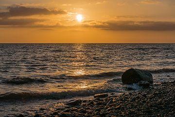 Sonnenuntergang an der Küste der Ostsee von Rico Ködder