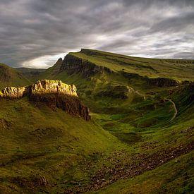 Trotternish Ridge sunset van Wojciech Kruczynski