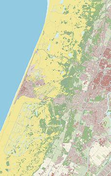 Kaart vanBloemendaal