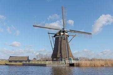 De Achtkante molen in Groot-Ammers van Beeldbank Alblasserwaard