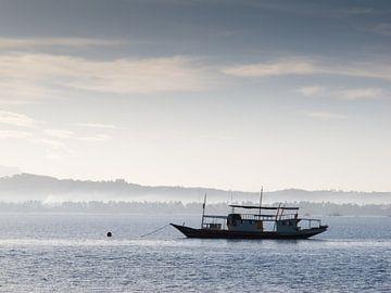 boat on water van