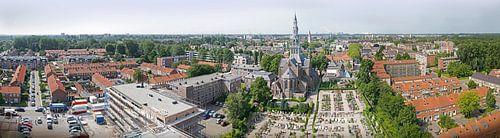 panorama dorpsgezicht Heemskerk