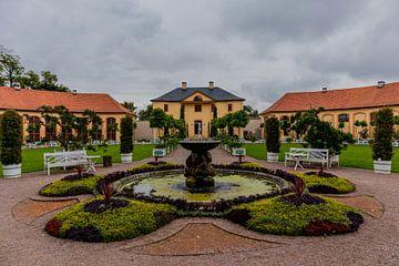 Welkom in het Belvedere Palace in de klassieke stad Weimar van Oliver Hlavaty