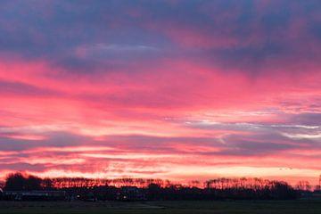 Die Sonne färbt den Himmel von Nacht zu Tag! von As Janson