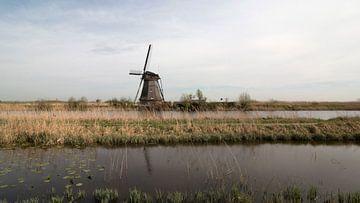 De molens van Kinderdijk van