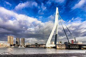 Cloudy Erasmusbrug Rotterdam
