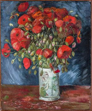 Vase mit Mohnblumen, Vincent van Gogh
