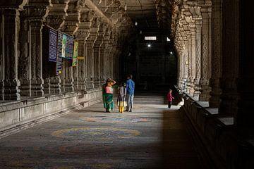 Een rondgang door de Ekambareswarar Temple in Kanchipuram van Martijn Mureau