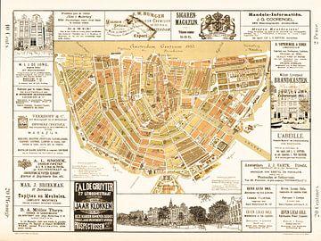 Kaarten van Amsterdam 1883 Oud van Hendrik-Jan Kornelis