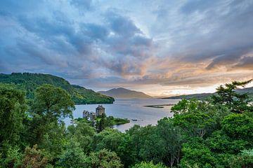 Eilean Donan Castle Schottland von Lex van Doorn