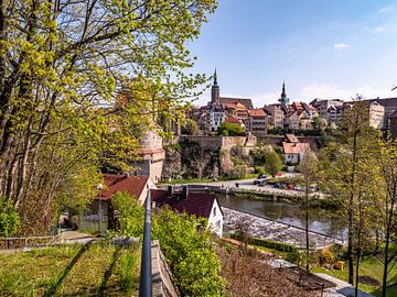 Blick auf die Altstadt von Bautzen im Frühling von Animaflora PicsStock
