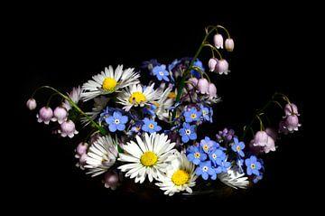 Bosje bloemen van Corinne Welp