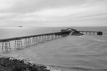Pier in Zuid Engeland van Rob van Dam