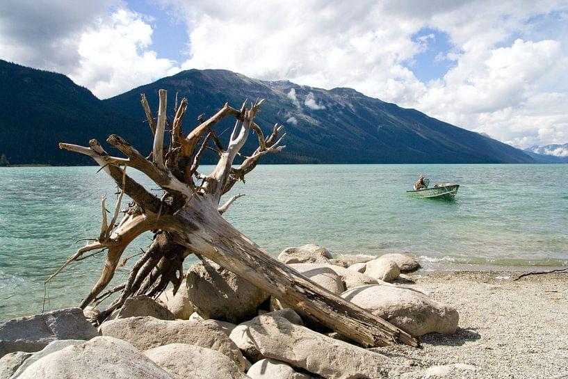 Lake, Canada van Karin Hendriks Fotografie