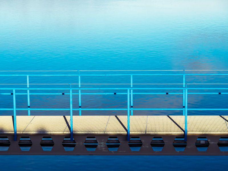 Blauwe brug van Martijn Tilroe
