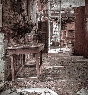 Oude stroopfabriek van