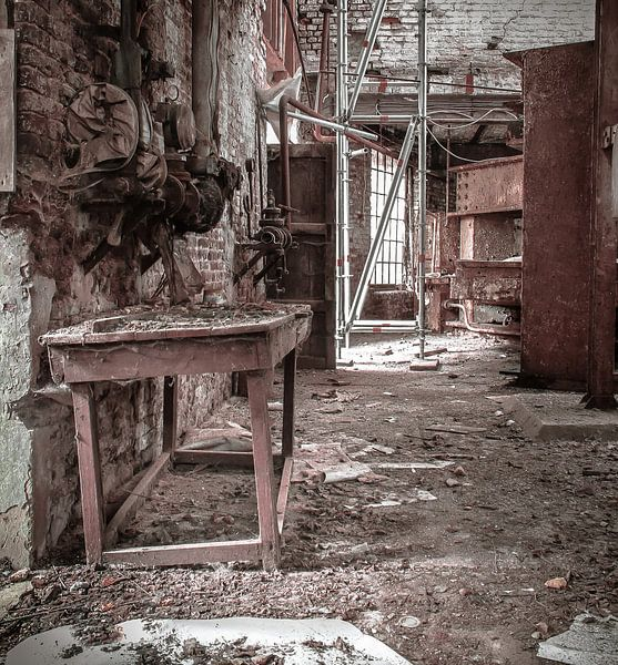 Oude stroopfabriek van Olivier Van Cauwelaert