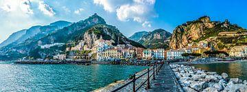 Amalfi, Italy van