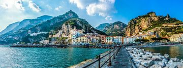 Amalfi, Italy von Teun Ruijters
