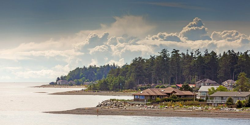 Kustlijn van Vancouver eiland  van Menno Schaefer