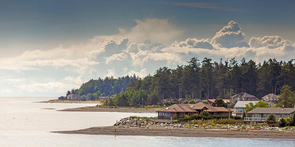 Kustlijn van Vancouver eiland