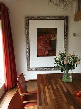Klantfoto: George Hendrik Breitner. De rode kimono