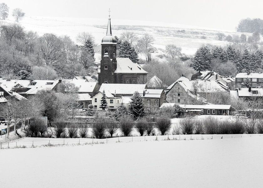 Eys in de sneeuw