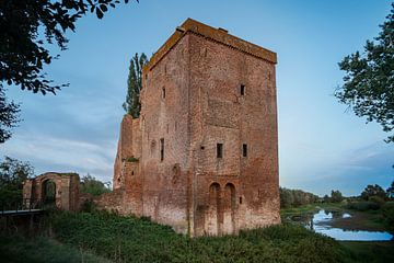Ruine Schloss Nijenbeek von Arnold van Rooij