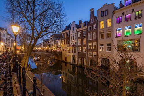 Utrecht Oudegracht Lichte Gaard en Lijnmarkt en Gaardbrug