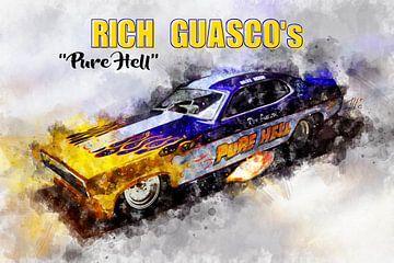 Rijke Guasco, Pure Hell met titel van Theodor Decker
