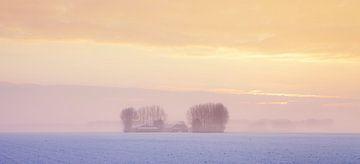 Winterlandschaft Zeeland von Frank Peters