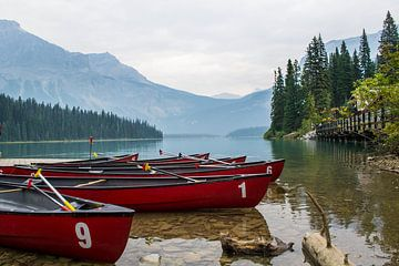 Emerald Lake, Canada van Claudia Esveldt