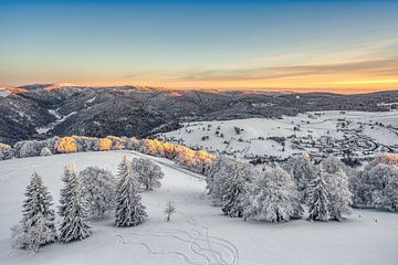 Winter in het Zwarte Woud van Michael Valjak