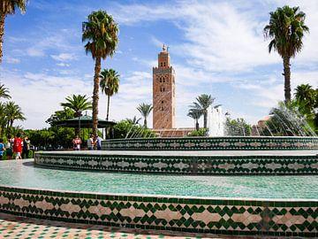 Fontaine Marrakech sur Déwy de Wit
