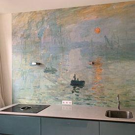 Kundenfoto: Claude Monet Ipression, soleil levant von Meesterlijcke Meesters