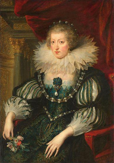 Anna van Oostenrijk, Peter Paul Rubens  van Meesterlijcke Meesters