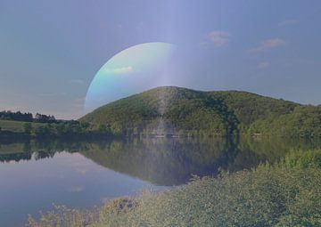 Planet Erde van Vera Laake