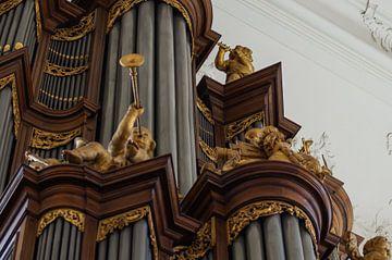 Orgel Detail - Lutherse Kerk, Den Haag von Rossum-Fotografie