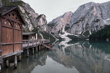 Pragser Wildsee - Italien von Gerard Van Delft