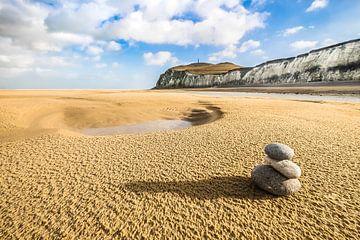 Zen @ the beach van Niels Barto