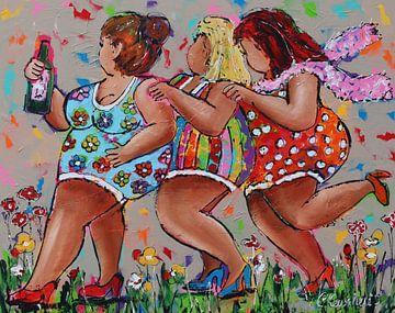 polonaise sur Vrolijk Schilderij