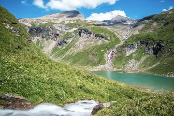 Bergmeer bij de Großklockner in Oostenrijk