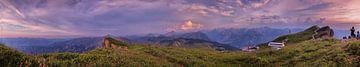 Panorama Autriche Montagnes sur Hans van Oort