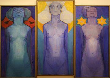 Evolution - Piet Mondrian