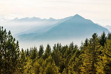 Automne dans les Alpes suisses sur Hidde Hageman
