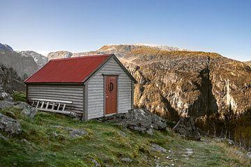 Einsame Hütte von Twan van Vugt