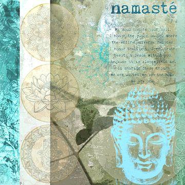 Boeddha beeldende kunst van Carmen Varo