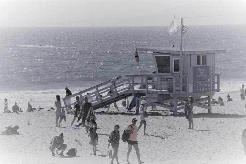 Santa Monica Baywatch von Paul Franke